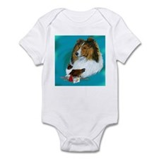 sheltie rally Infant Bodysuit