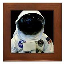 Astronaut 1b Framed Tile