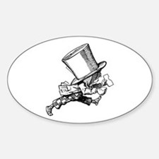 Mad Hatter Striding Right Decal