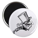 Mad Hatter Striding Right Magnet