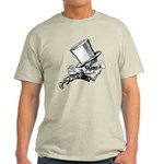 Mad Hatter Striding Right Light T-Shirt