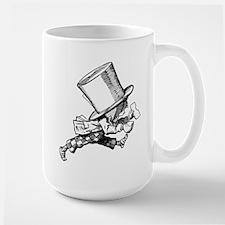 Mad Hatter Striding Right Large Mug