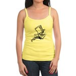 Mad Hatter Striding Right Jr. Spaghetti Tank