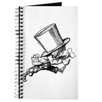 Mad Hatter Striding Right Journal