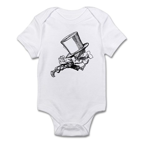 Mad Hatter Striding Right Infant Bodysuit