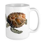 Green Turtle Large Mug
