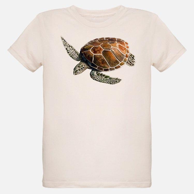 Green turtle t shirts shirts tees custom green turtle for Turtle t shirts online