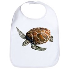 Green Turtle Bib