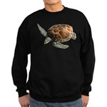 Green Turtle Sweatshirt (dark)