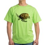 Green Turtle Green T-Shirt