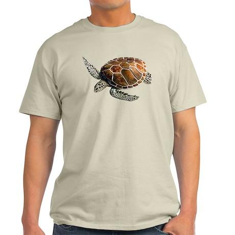 Green Turtle Light T-Shirt
