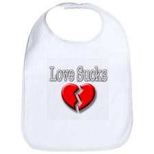 Love Sucks 2 Bib