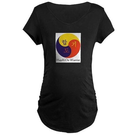 HapKiDo Warriors Maternity Dark T-Shirt