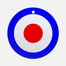 Mod Target Ornament (Round)