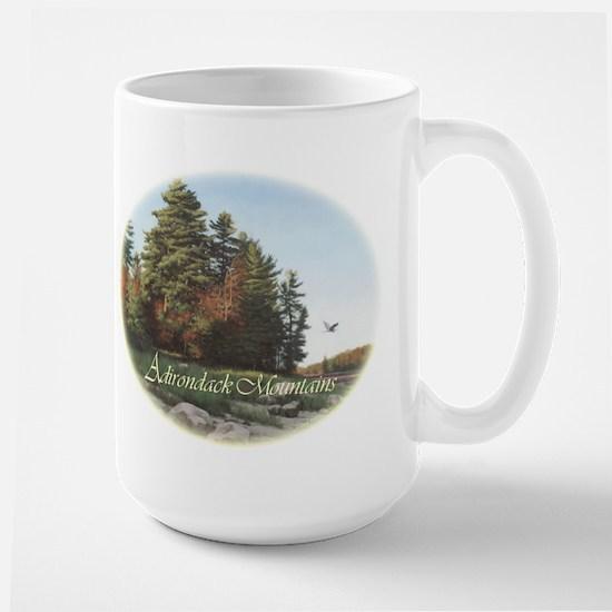 Evening Flight Large Mug