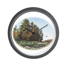 Evening Flight Wall Clock