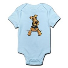 Welsh Terrier Paws Up Onesie