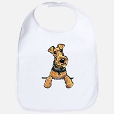Welsh Terrier Paws Up Bib