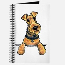 Welsh Terrier Paws Up Journal
