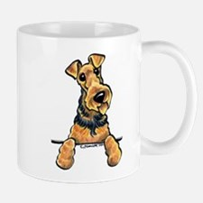 Welsh Terrier Paws Up Mug