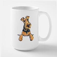 Welsh Terrier Paws Up Mug