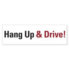 Hang-Up Bumper Bumper Sticker