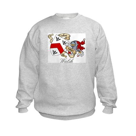 Walsh Coat of Arms Kids Sweatshirt