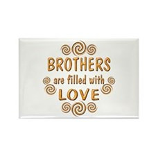 Brother Rectangle Magnet (10 pack)
