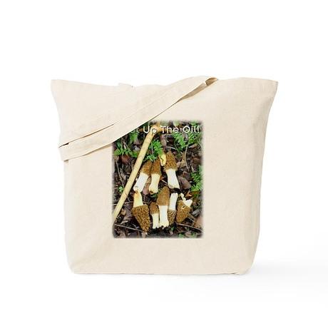 Heat Up Morels Tote Bag