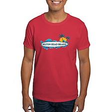 Hilton Head Island SC - Surf Design T-Shirt