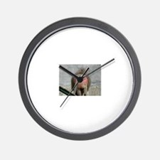 Cute Baboon Wall Clock