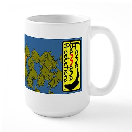 Lone Bannana Large Mug