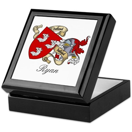 Ryan Coat of Arms Keepsake Box