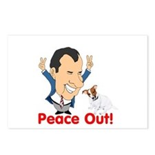 President Nixon and JRT Peace Postcards (Package o