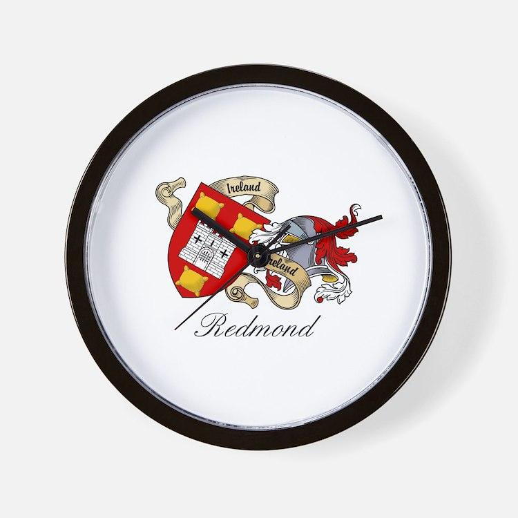 Redmond Coat of Arms Wall Clock