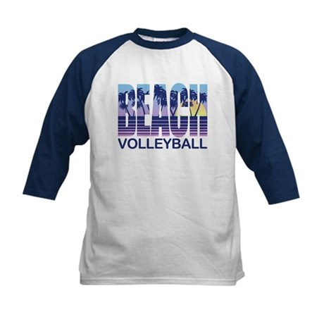 Beach Volleyball Kids Baseball Jersey