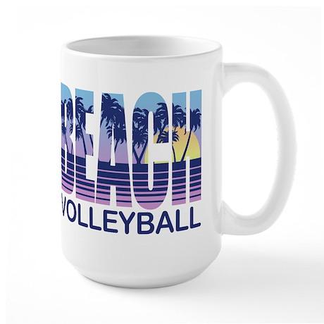 Beach Volleyball Large Mug