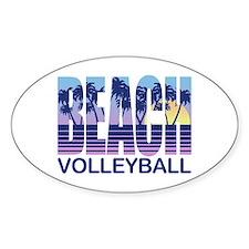 Beach Volleyball Decal