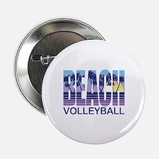 "Beach Volleyball 2.25"" Button"