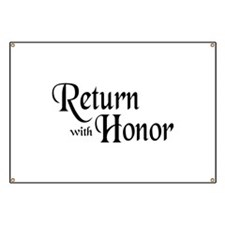 Return With Honor Banner
