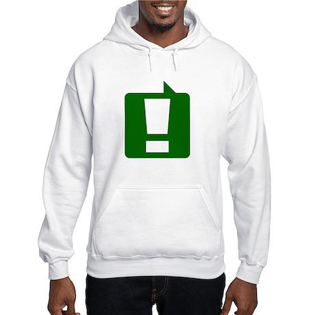 Exclamation Hooded Sweatshirt