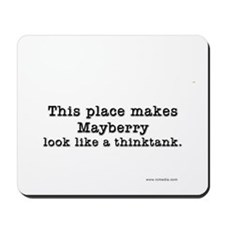 Mayberry Think Tank Mousepad