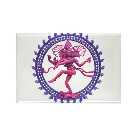 Shiva Rectangle Magnet