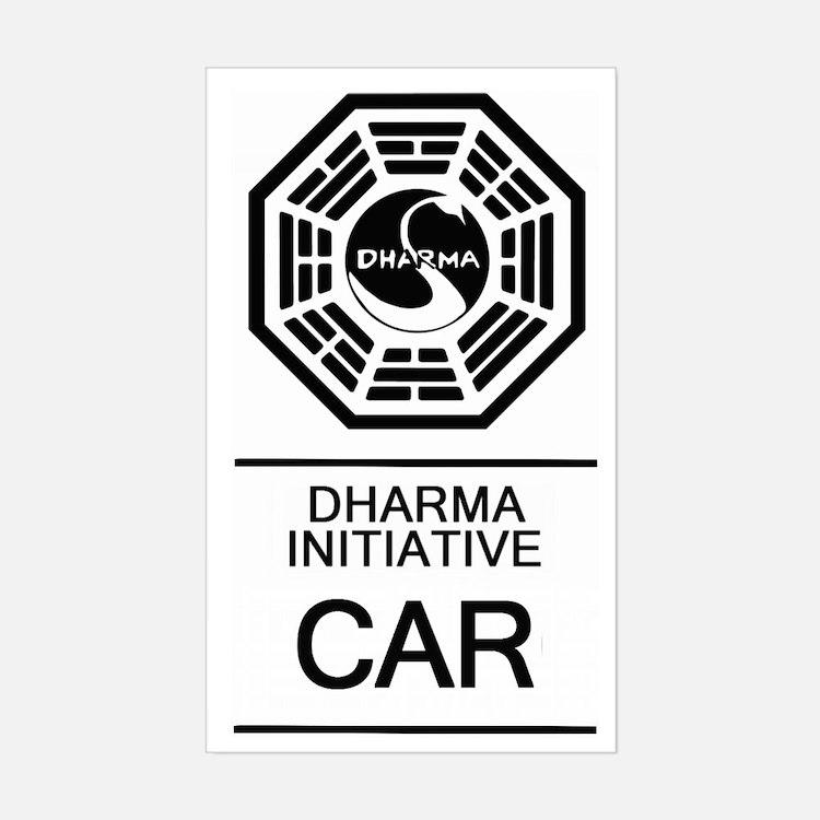 Dharma Initiative Car Decal