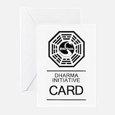 Dharma Initiative Greeting Cards - 20