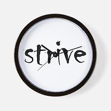 Strive Wall Clock