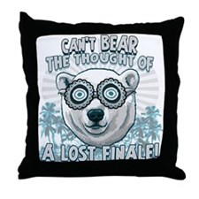 Bear Lost Finale Throw Pillow