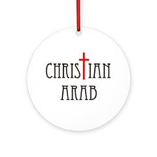 PROUD OF MY FAITH Ornament (Round)