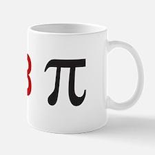 I <3 pi Mug