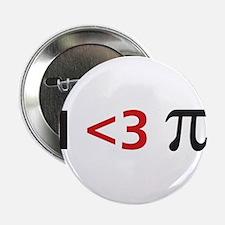 "I <3 pi 2.25"" Button (10 pack)"
